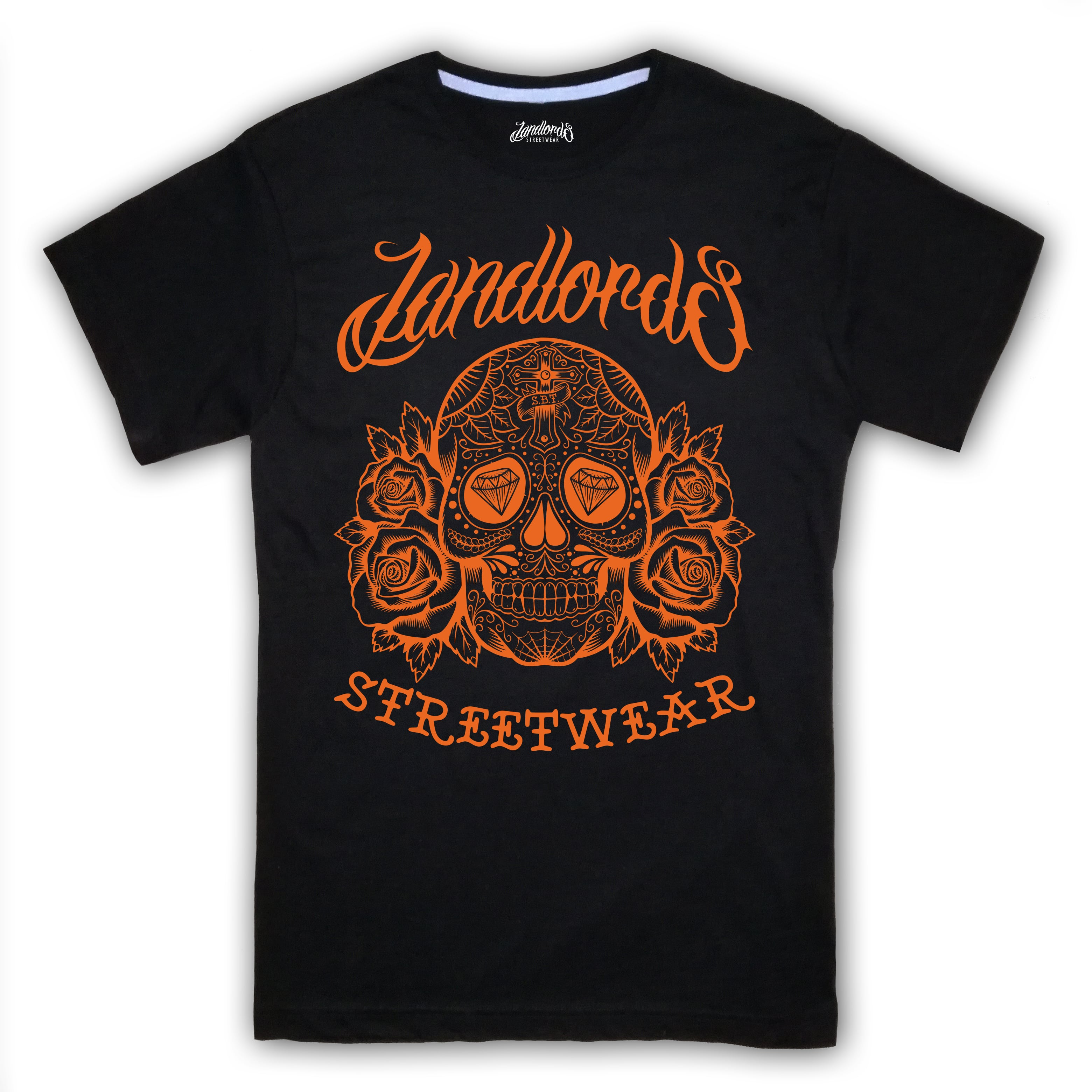 Mexican Skull Landlords T-Shirt | Edroppit