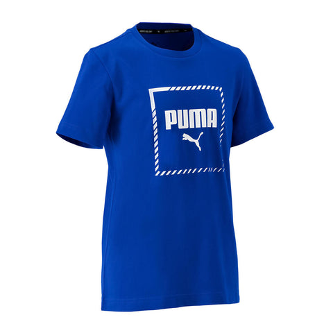 T-shirt regular boy bleu royal Puma