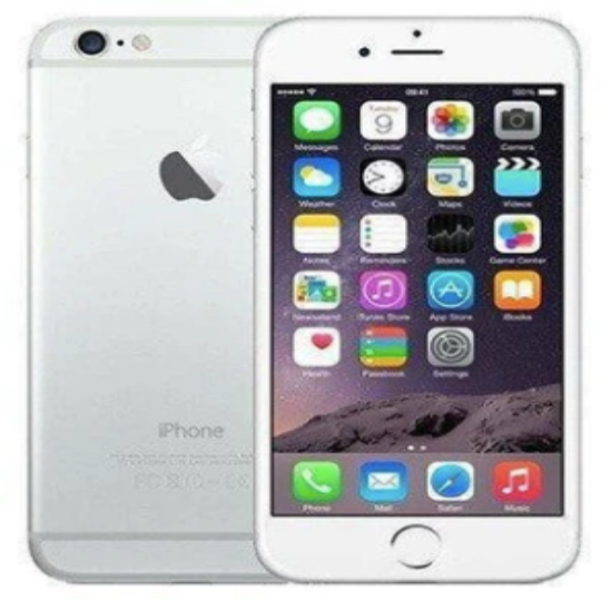 Apple iPhone 6 - 64GB - Silver Unlocked -  Refurbished - Factory Reset