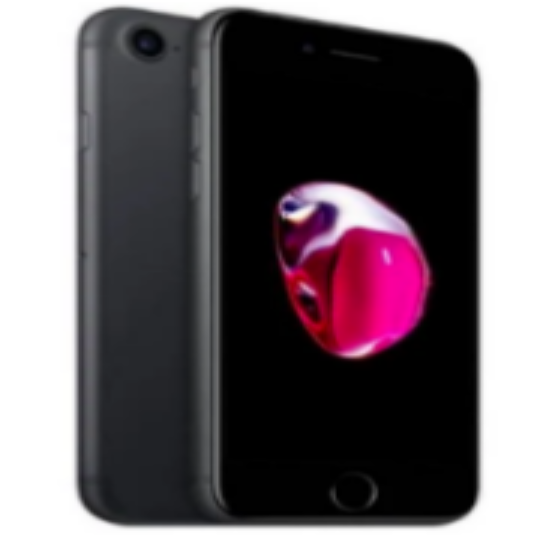 Apple iPhone 7 -128 GB A1660 - Black Unlocked -  Refurbished - Factory Reset