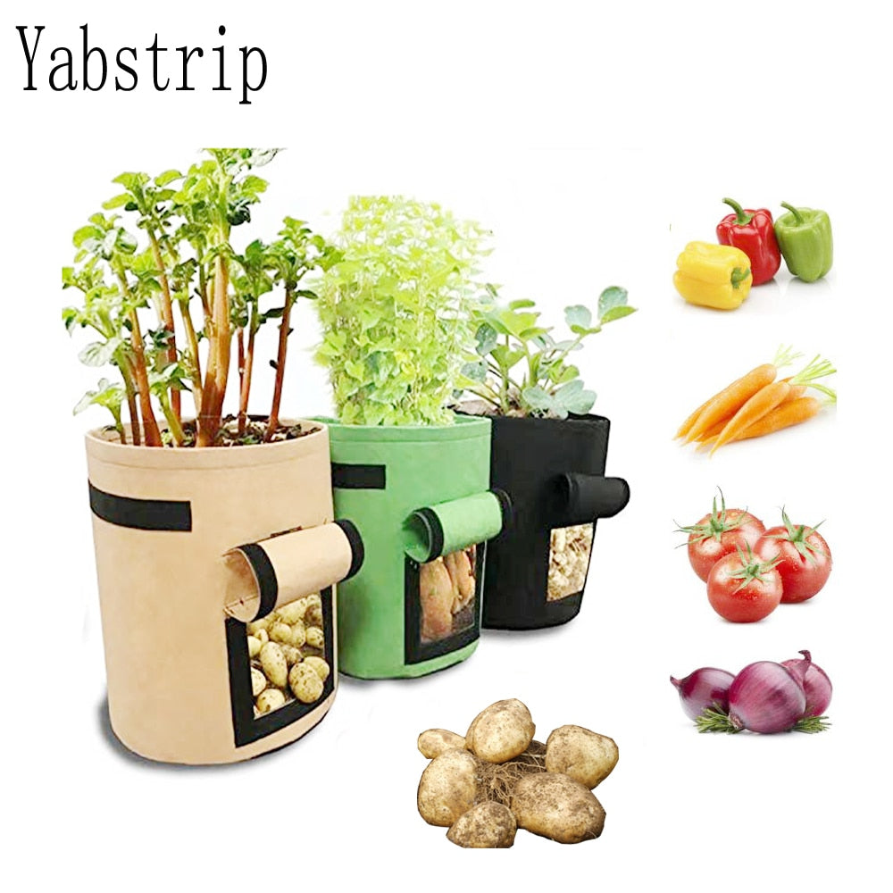 Breathable Garden Vegetable Planting Bags