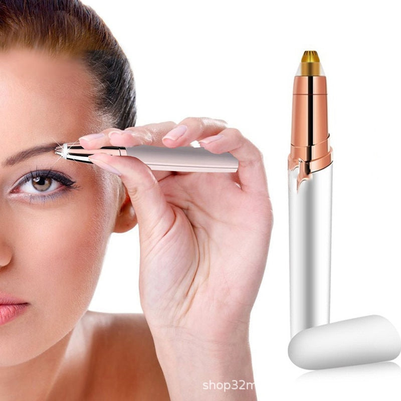 Profissional Painless Electric Eyebrow Trimmer