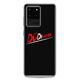 "DoDiWork ""Red & White on Black"" - Samsung Case"