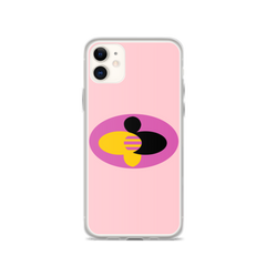 "DoDiWork ""B-Line Passion on Pink"" - iPhone Case"