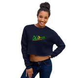 "DoDiWork ""Out of Many Print"" - Crop Sweatshirt"
