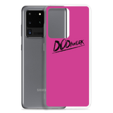 "DoDiWork ""Black on Pink"" - Samsung Case"