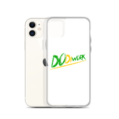 "DoDiWork ""Out Of Many"" - White iPhone Case"