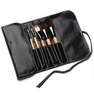 Premium Wood 12 Piece Makeup Brush Set