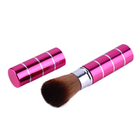 Retractable Cosmetic Brush Pink, Makeup Brush - My Make-Up Brush Set, My Make-Up Brush Set  - 3
