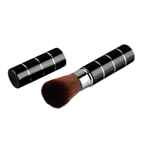 Retractable Cosmetic Brush Black, Makeup Brush - My Make-Up Brush Set, My Make-Up Brush Set  - 2