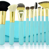 10 Pcs Arctic Brush Set , Make Up Brush - My Make-Up Brush Set, My Make-Up Brush Set  - 2