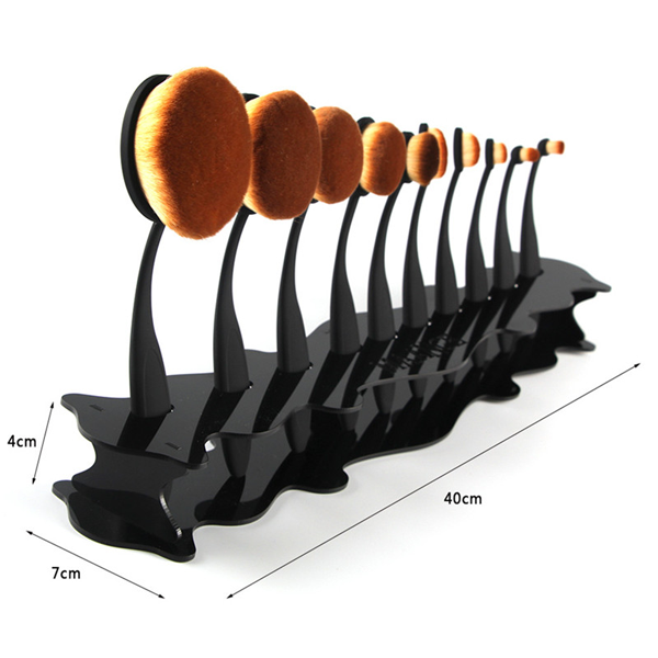 Oval Brush Set Holder Stand ,  - My Make-Up Brush Set, My Make-Up Brush Set  - 2