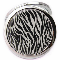 Safari Print Pocket Mirror ,  - My Make-Up Brush Set, My Make-Up Brush Set  - 3