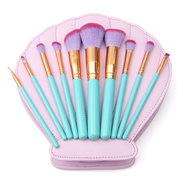 Ultra-Chic Heart Shell Mermaid Brush Set
