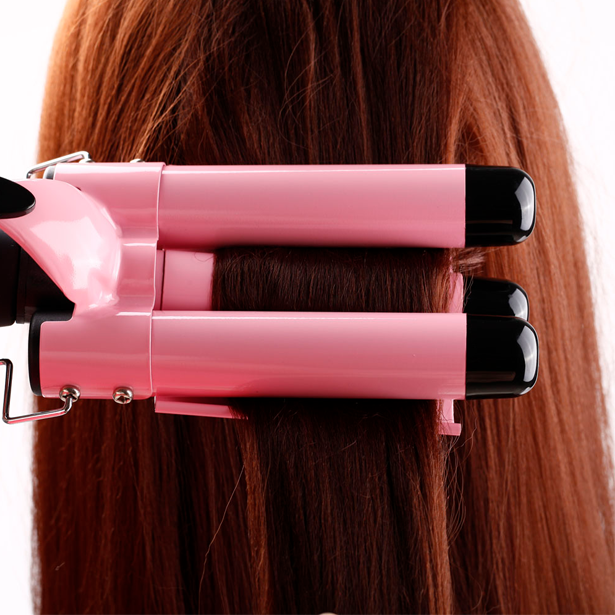 LCD Display Ceramic Triple Barrel Curling Iron [PRE-RELEASE] ,  - My Make-Up Brush Set, My Make-Up Brush Set  - 7