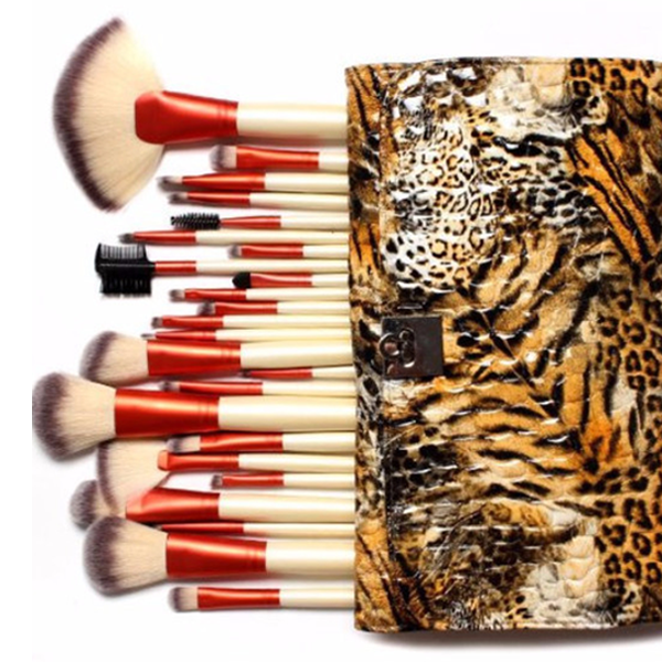 Fierce Tiger 24 Piece Makeup Brush Set
