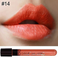 Matte Liquid Lipsticks Coral #14,  - My Make-Up Brush Set, My Make-Up Brush Set  - 8