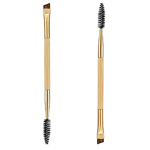 Double-Sided Brow Brush