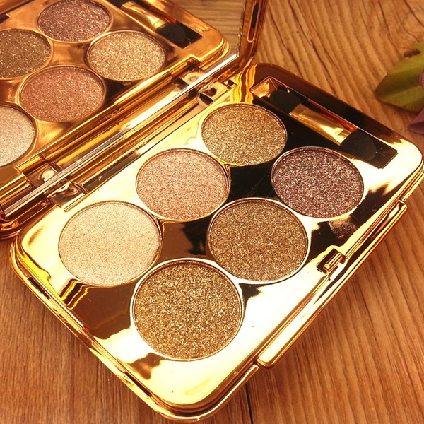6 Color Crushed Shine EyeShadow Palette [BEST SELLING]