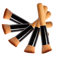 1 Piece Premium Wood Multi-Function Brush , Make Up Brush - My Make-Up Brush Set, My Make-Up Brush Set  - 5