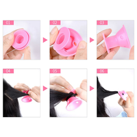 Silicone No-Heat Curlers