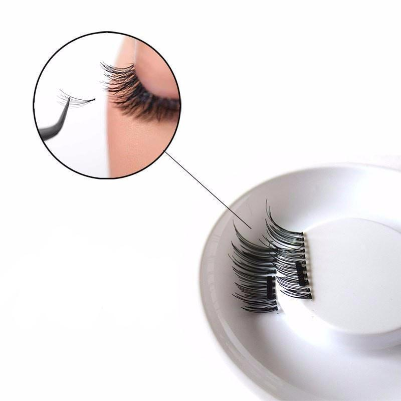 3D Reusable Magnetic False Eyelashes
