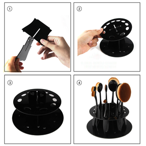 Oval Brush Holder ,  - My Make-Up Brush Set, My Make-Up Brush Set  - 4