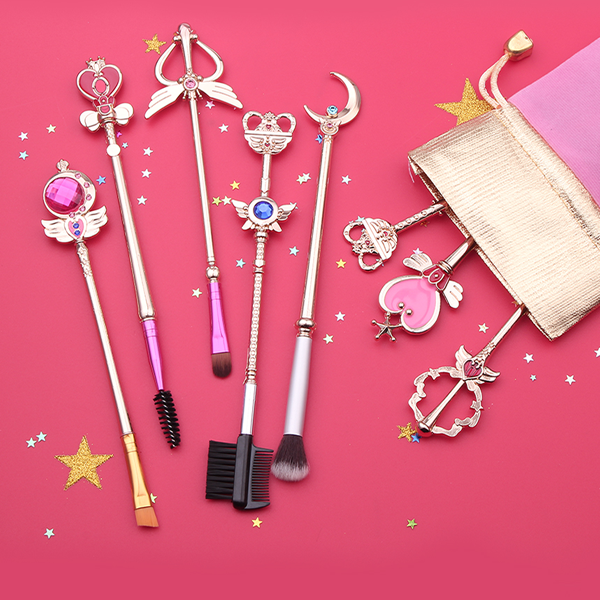 Sailor Moon Inspired Makeup Brush Set
