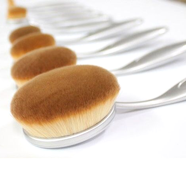 Aphrodite 10 Piece Oval Brush Set ,  - My Make-Up Brush Set, My Make-Up Brush Set  - 2