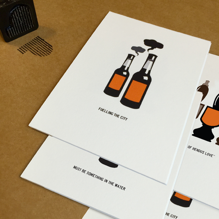New - Henderson's relish mini print collection