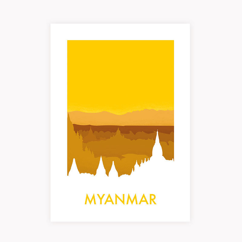 Myanmar - NL Wall Art - 1