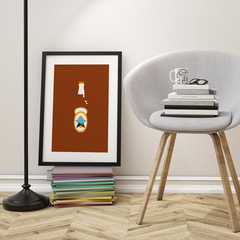 Newcastle Brown Ale Print - NL Wall Art - 3