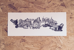 Sheffield City Montage Print - NL Wall Art - 1