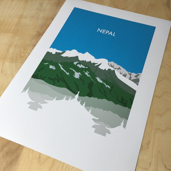 Nepal - NL Wall Art - 2