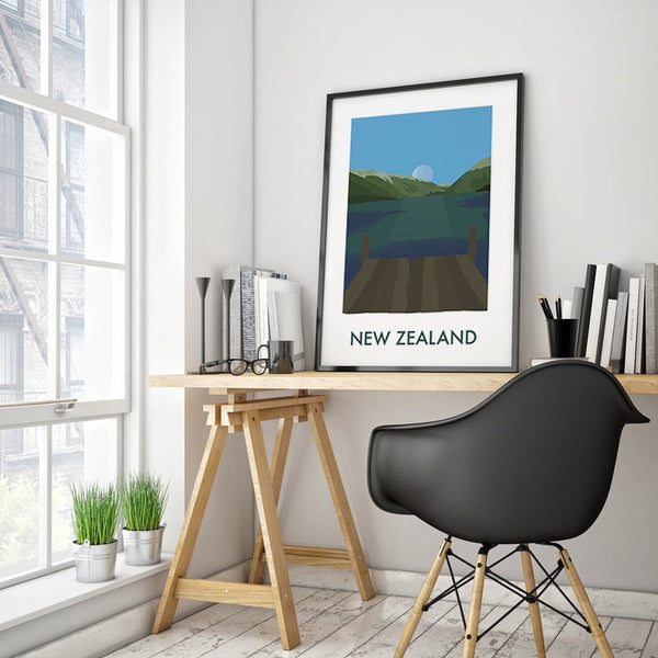 New Zealand - NL Wall Art - 2
