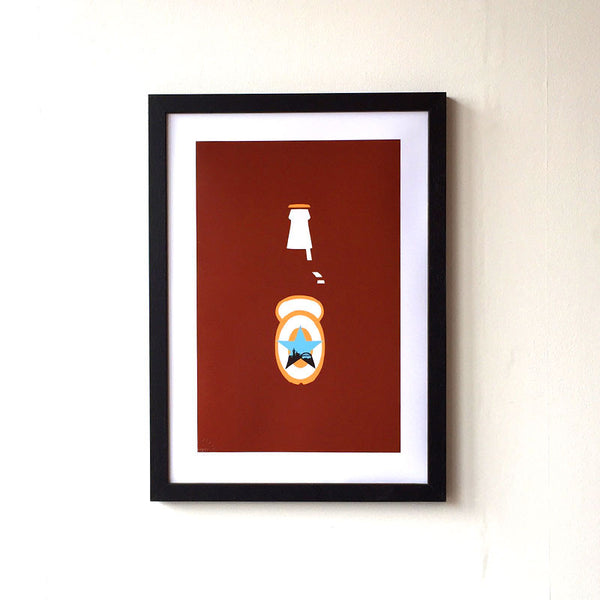 Newcastle Brown Ale Print - NL Wall Art - 2