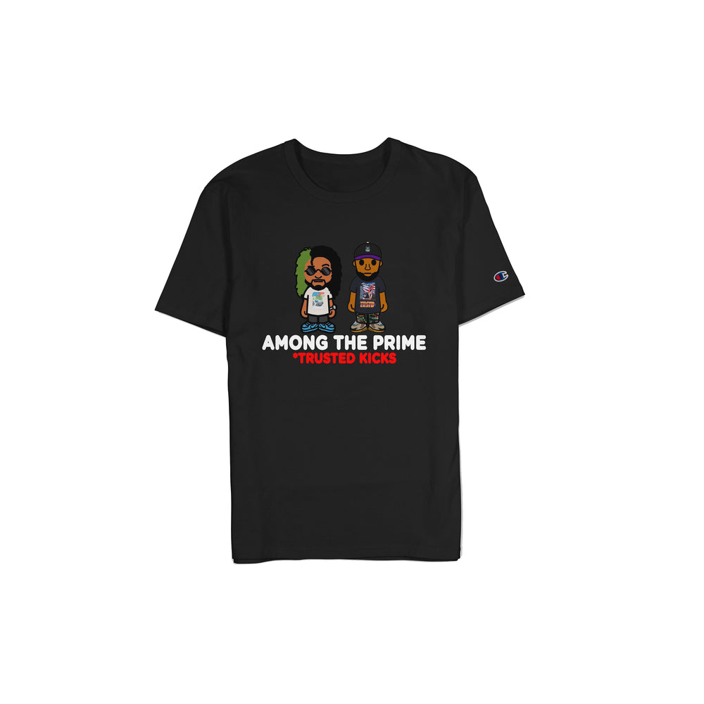 Load image into Gallery viewer, ATP X Trusted Kicks Black T-Shirt