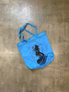 PERFECT BLUE TOTE BAG (BLUE)