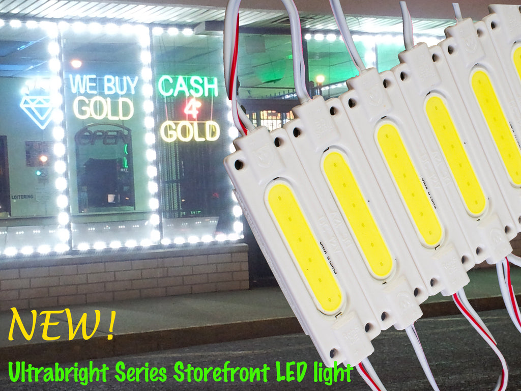 White Ultra COB series LED Light Modules