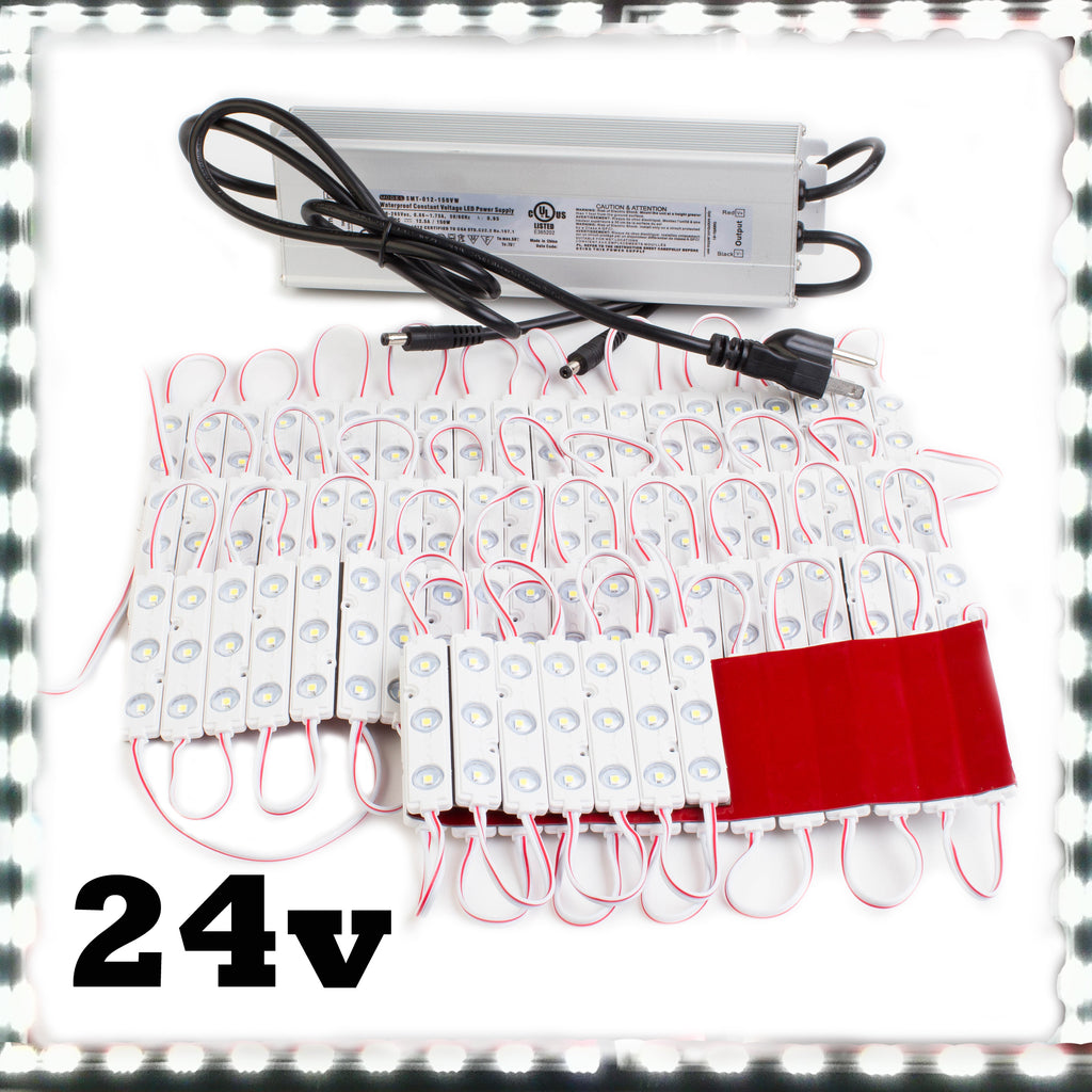 24v Super Bright White Premium Z3030 Series LED Light Modules