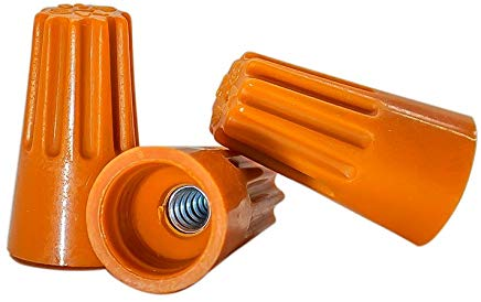 10pk 22-14 orange wire nuts