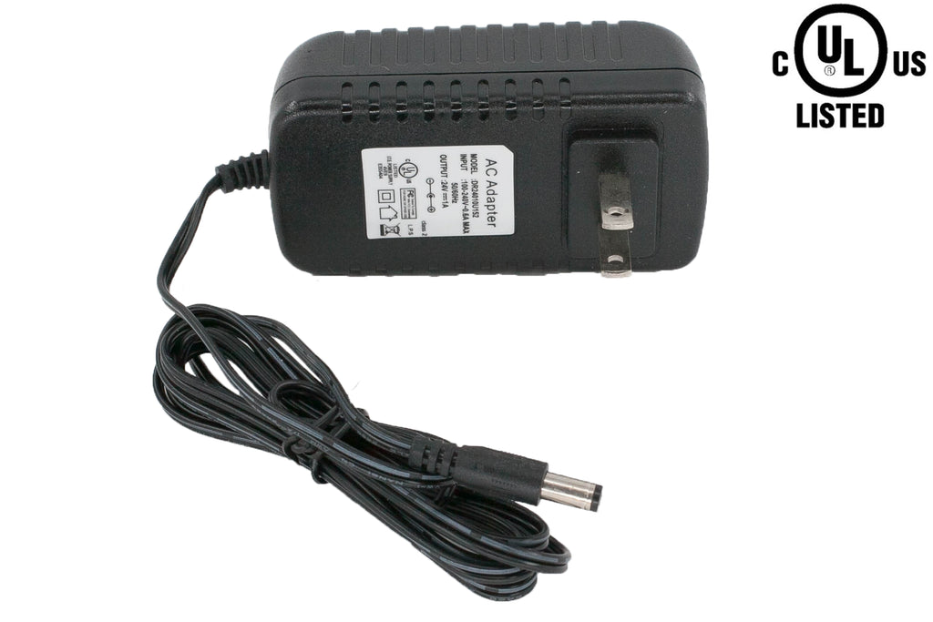 UL listed 24v 1 Amp 24w Class 2 Power supply Driver AC adapter
