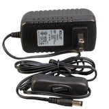 UL Listed 12v 24w Class 2 Power Supply Driver with on/off switch