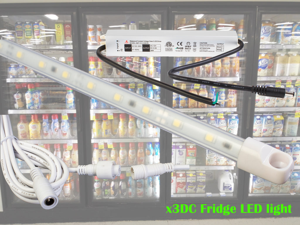 4ft Walk in cooler waterproof LED Light x3DC