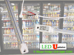 5ft V shape fridge cooler LED Light
