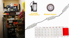 Storage LED Light with Motion Sensor Switch