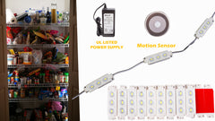 Closet LED Light with Motion Sensor Switch