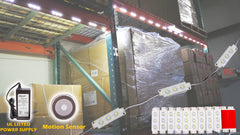 Warehouse LED Light with Motion Sensor switch