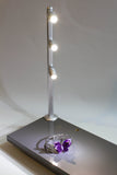 Jewelry LED Pole light model FY-53 12 inches silver 4000k
