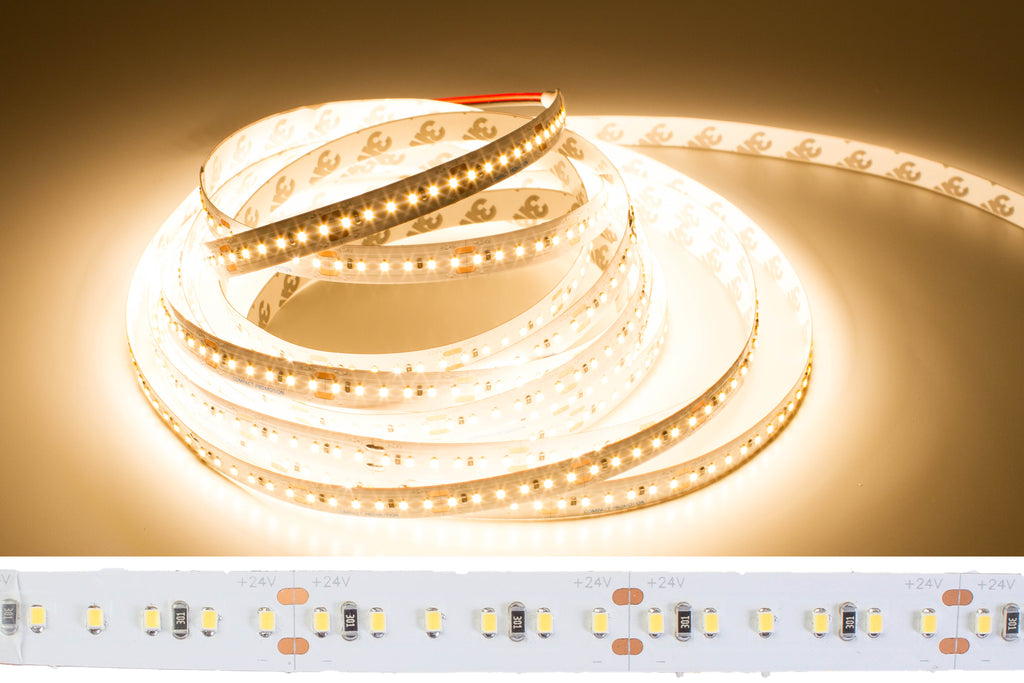 24v 2216 Series 3000K CRI 90 Warm white color LED strip light